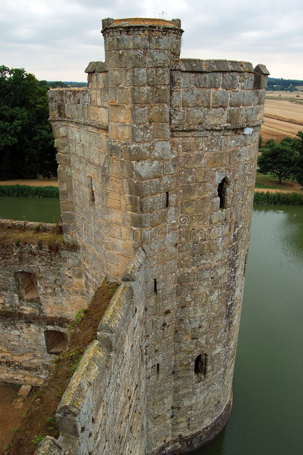 Castelo de Bodiam imagens de stock royalty free