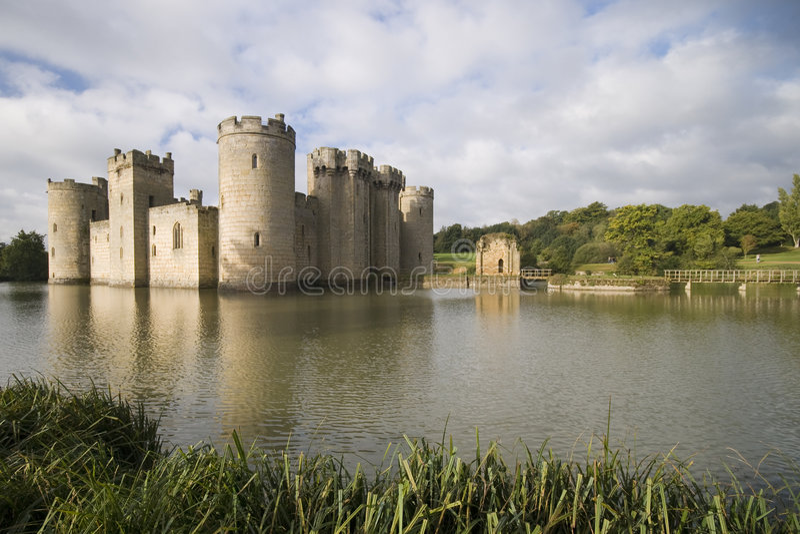 Castelo de Bodiam foto de stock
