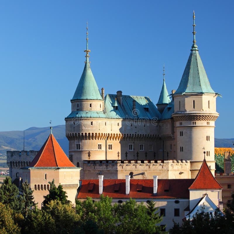 Castelo de Bojnice foto de stock royalty free