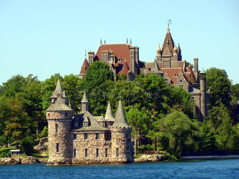 Castelo de Boldt em mil ilhas, New York fotos de stock