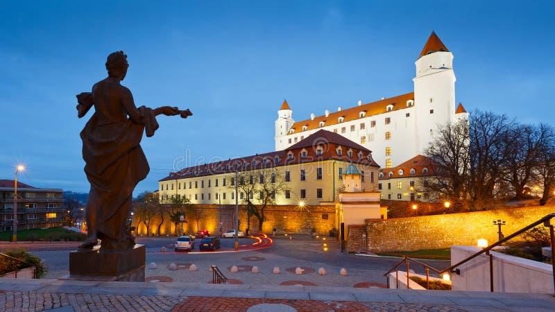 Castelo de Bratislava, Slovakia imagem de stock royalty free