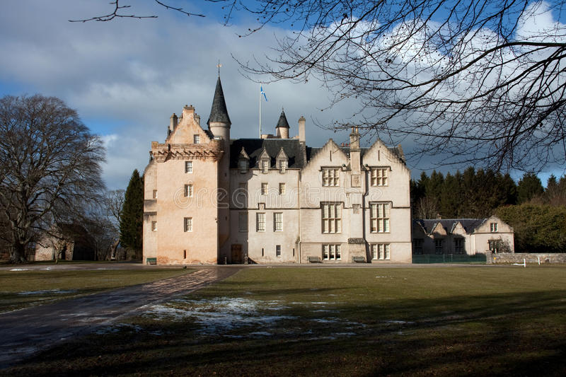 Castelo de Brodie fotografia de stock royalty free