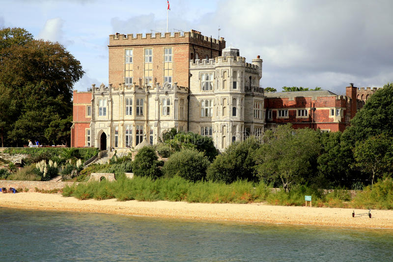 Castelo de Brownsea, Poole, Dorset imagem de stock royalty free