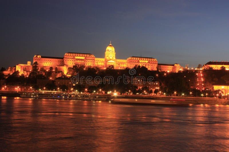 Castelo de Buda em Budapest foto de stock