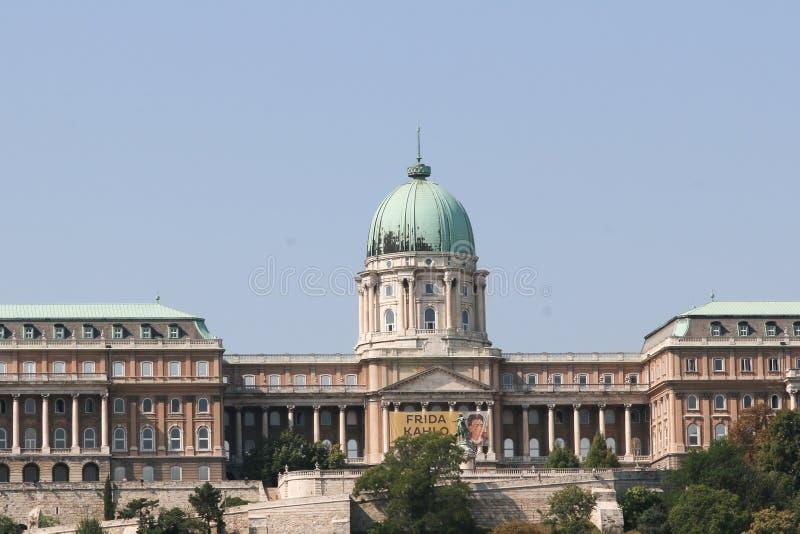 Castelo de Buda em Budapest imagens de stock royalty free
