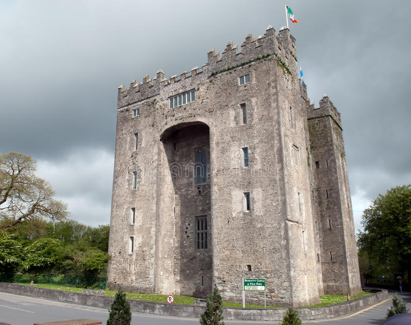 Castelo de Bunratty fotos de stock