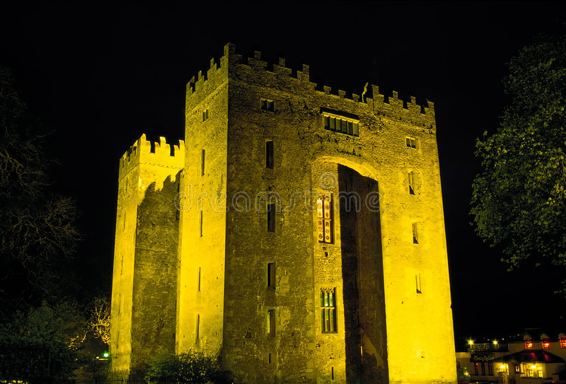 Castelo de Bunratty fotografia de stock