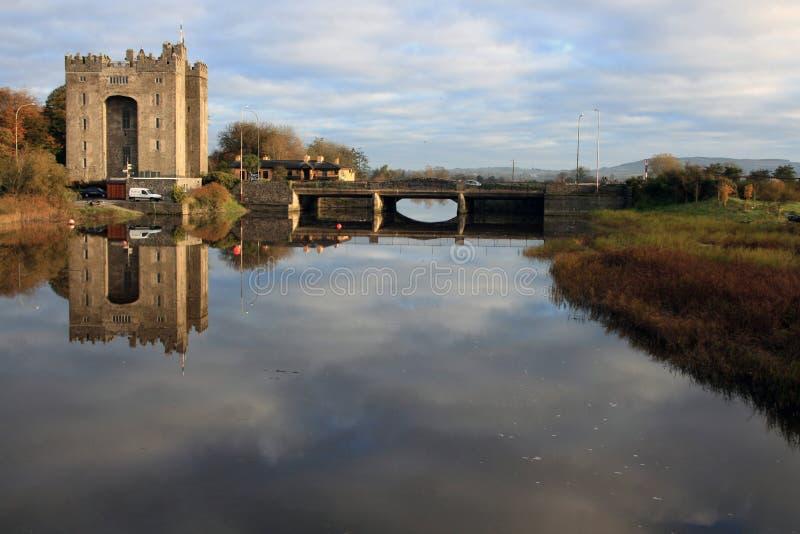 Castelo de Bunratty fotografia de stock royalty free