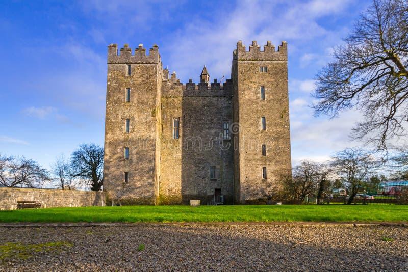 Castelo de Bunratty em Co clare imagens de stock royalty free