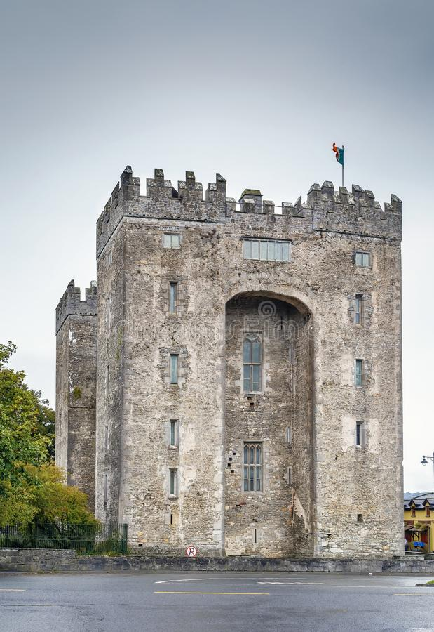 Castelo de Bunratty, Ireland fotos de stock