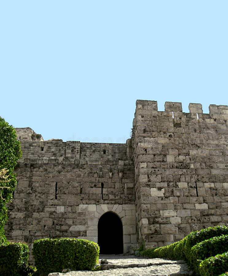 Castelo de Byblos imagem de stock royalty free