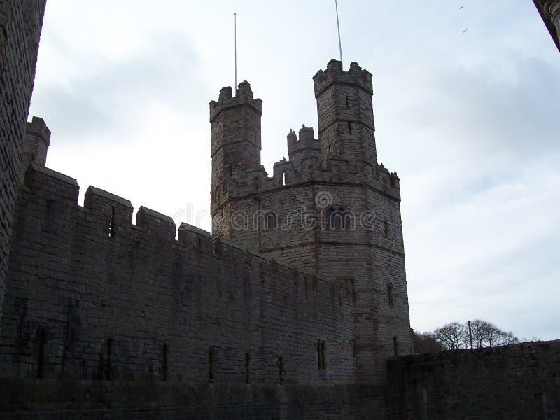 Castelo de Caernerfon imagem de stock