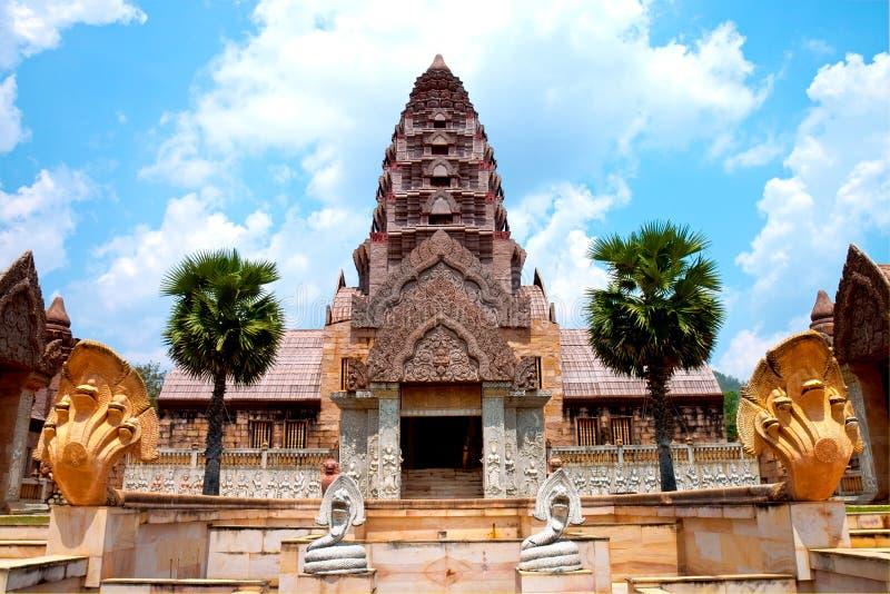 Castelo de Cambodia imagens de stock