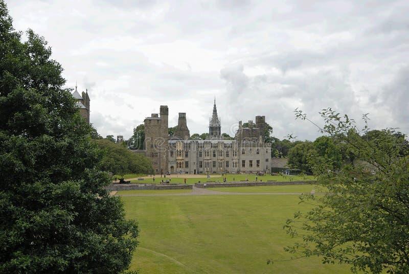 Castelo de Cardiff foto de stock
