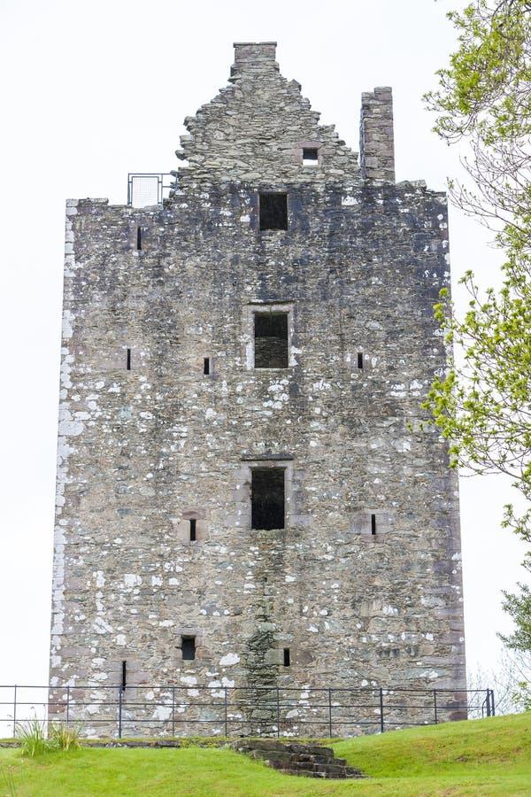 Castelo de Cardoness, Dumfries e Galloway, Escócia imagens de stock