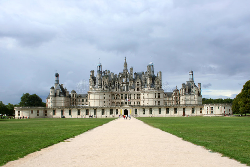 Castelo de Chambord fotografia de stock royalty free