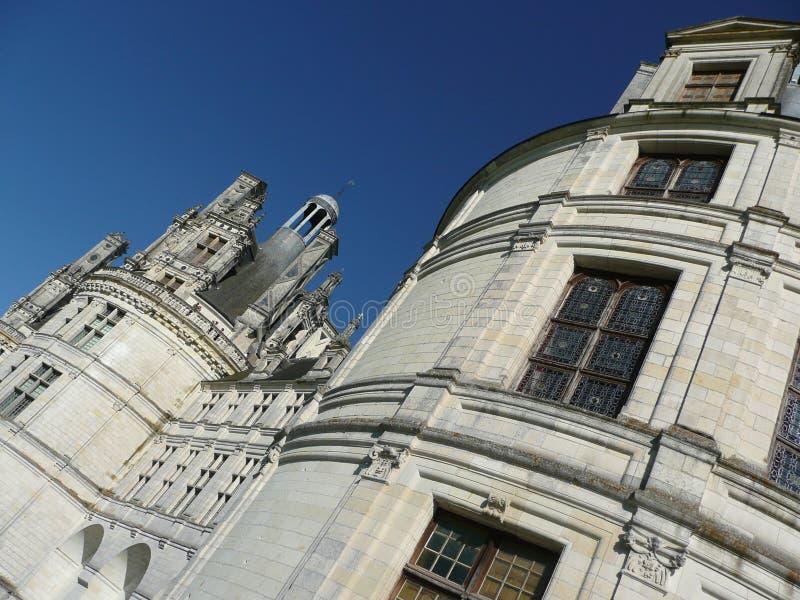 Castelo de Chambord em France fotos de stock royalty free