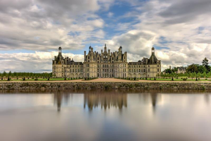 Castelo de Chambord - França fotos de stock