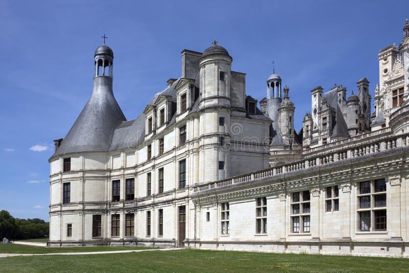 Castelo de Chambord - Loire Valley - France imagem de stock royalty free