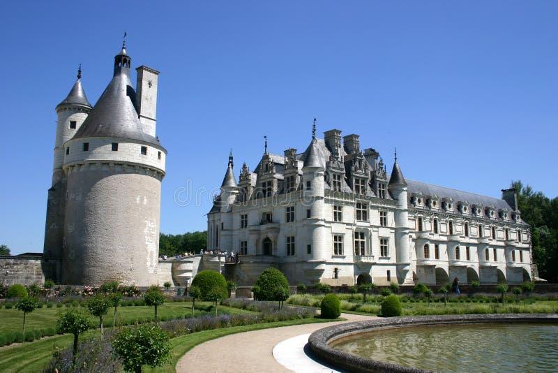 Castelo de Chenonceau fotos de stock