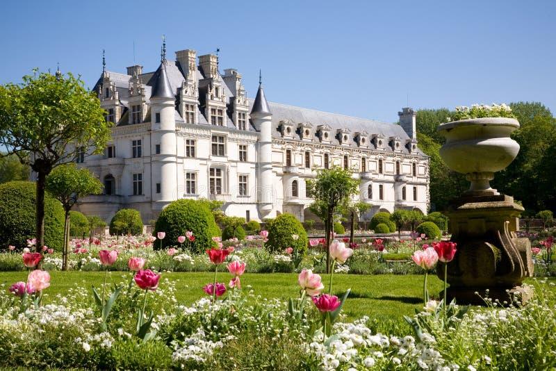 Castelo de Chenonceau fotos de stock royalty free