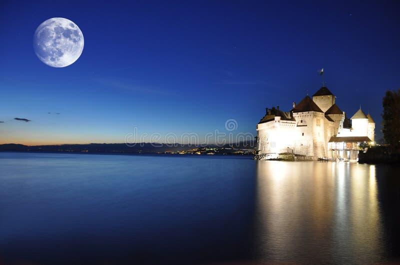 Castelo de Chillon foto de stock royalty free