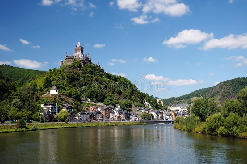 Castelo de Cochen imagens de stock royalty free