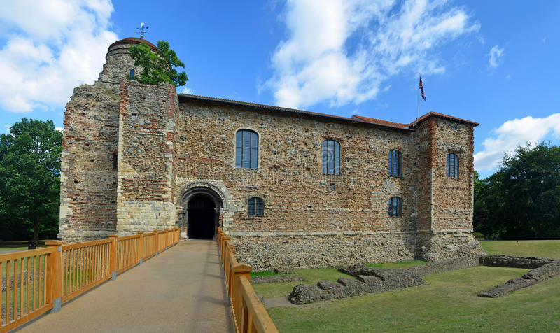 Castelo de Colchester imagens de stock royalty free
