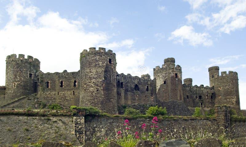 Castelo de Conwy fotografia de stock royalty free