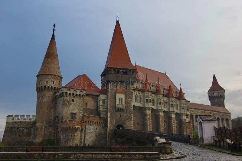Castelo de Corvin, Romania fotografia de stock royalty free