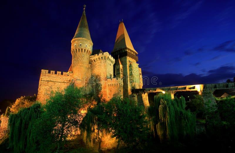 Castelo de Corvinesti imagens de stock royalty free