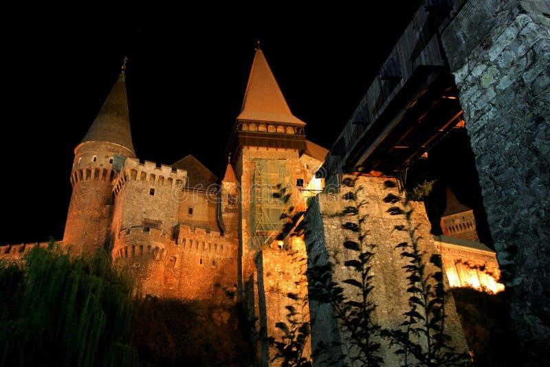 Castelo de Corvinesti fotografia de stock