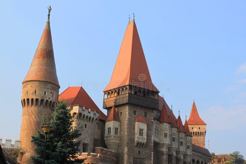 Castelo de Corvinesti imagem de stock