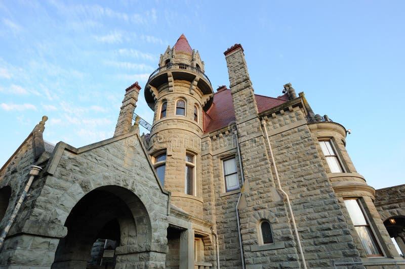Castelo de Craigdarroch fotografia de stock