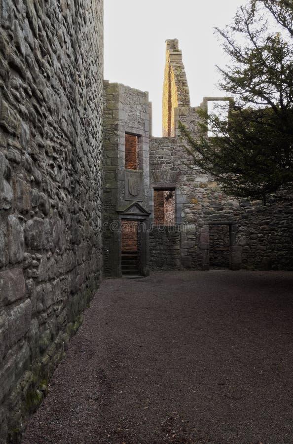 Castelo de Craigmillar foto de stock royalty free