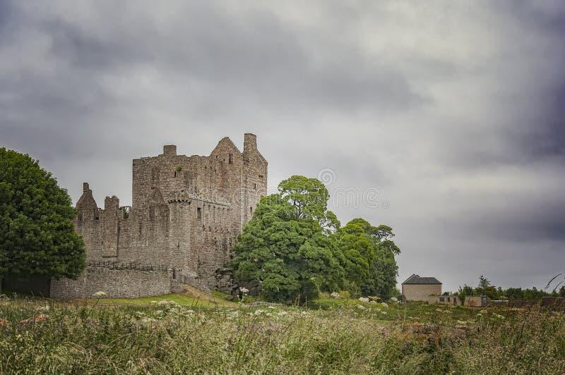 Castelo de Craigmillar em Edimburgo imagem de stock royalty free