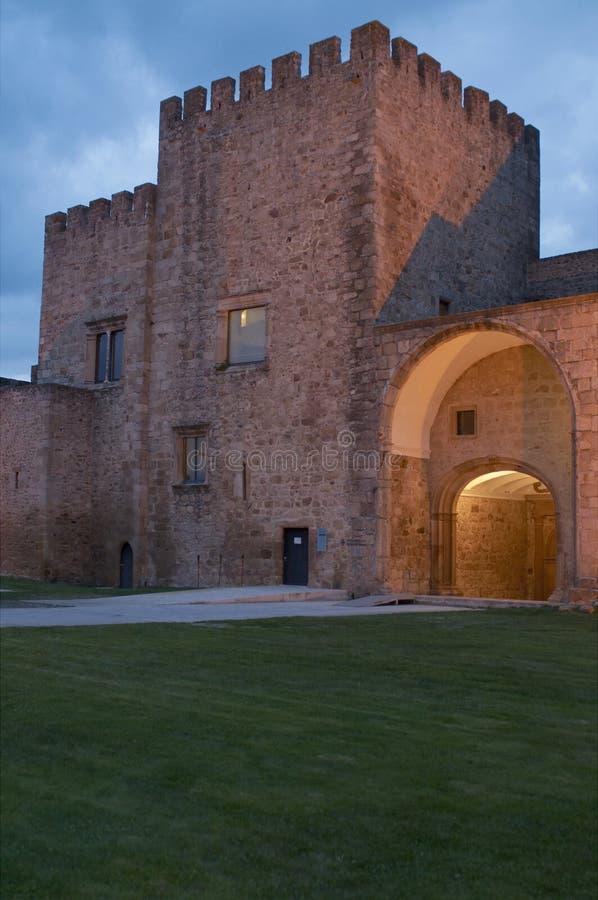 Castelo de Crato imagem de stock