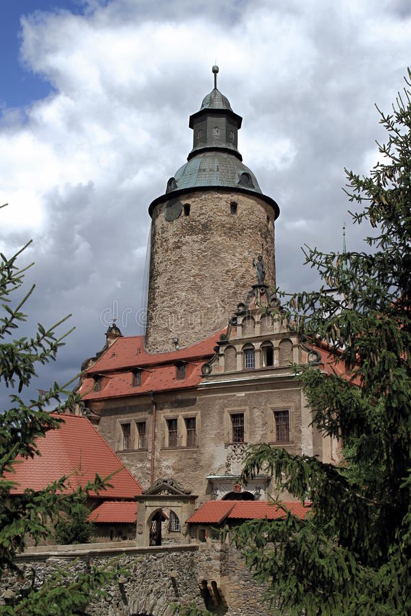 Castelo de Czocha fotografia de stock