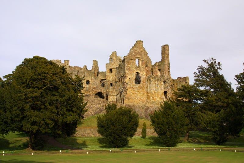 Castelo de Direlton - Scotland foto de stock