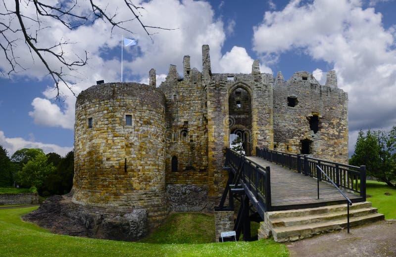 Castelo de Dirleton imagem de stock
