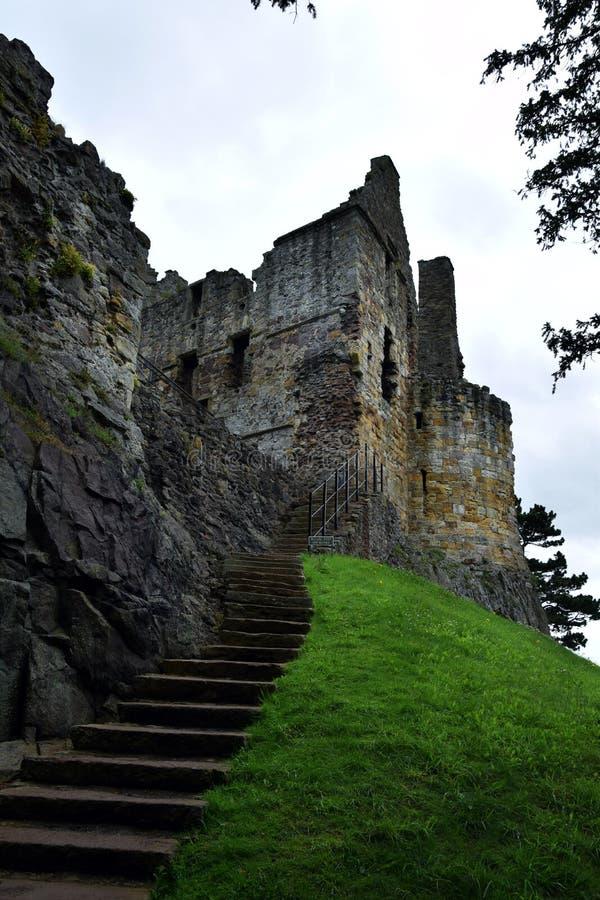 Castelo de Dirleton fotografia de stock royalty free