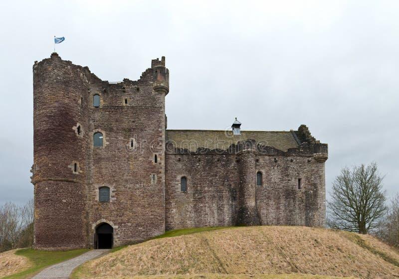 Castelo de Doune, Scotland fotografia de stock