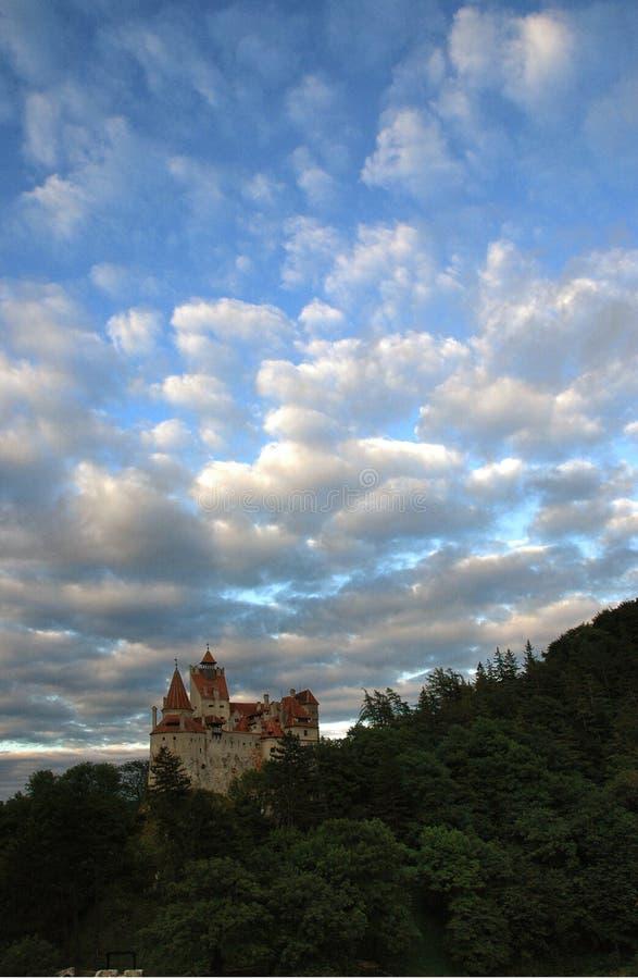 Castelo de Dracula imagem de stock
