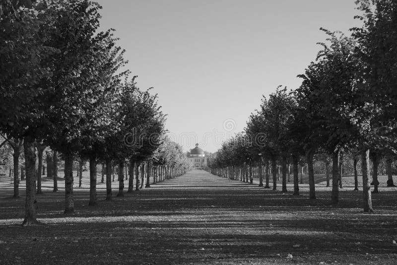 Castelo de Drottningholm e parque, Suécia de Éstocolmo imagens de stock royalty free