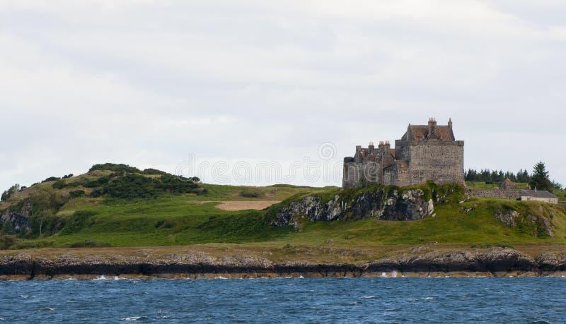 Castelo de Duart em Scotland foto de stock