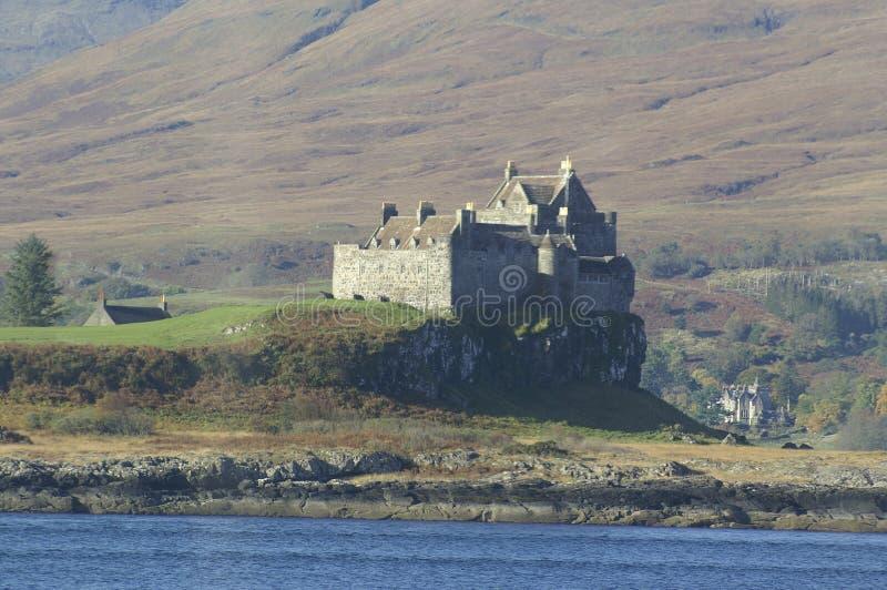 Castelo de Duart, Escócia foto de stock royalty free