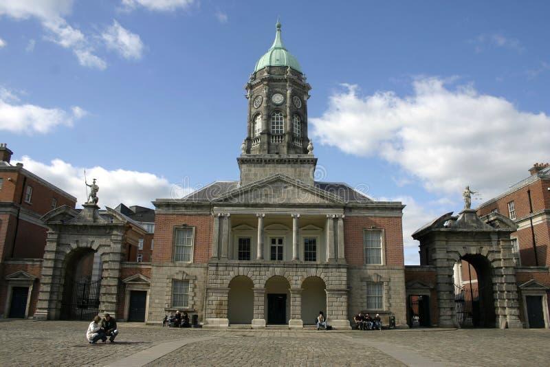 Castelo de Dublin imagens de stock royalty free