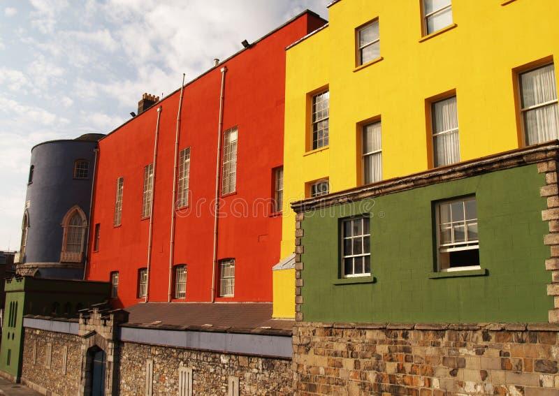 Castelo de Dublin, Ireland imagem de stock