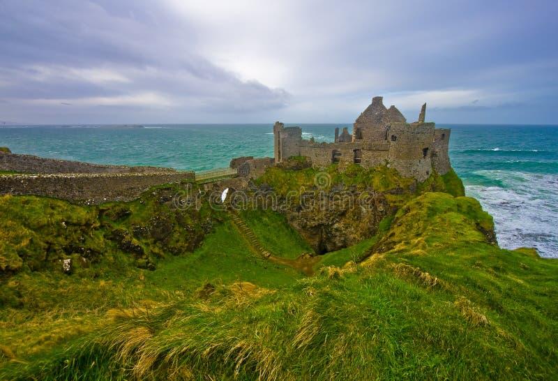 Castelo de Dunluce imagens de stock royalty free