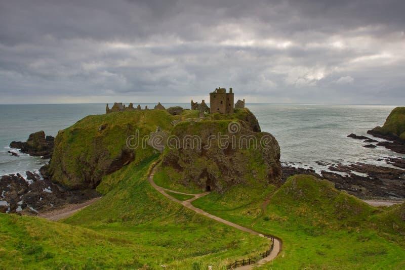 Castelo de Dunnottar imagem de stock royalty free